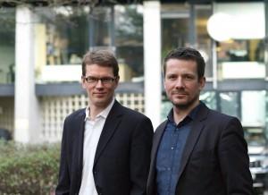 Die Substanz-Gründer Denis Dilba und Georg Dahm