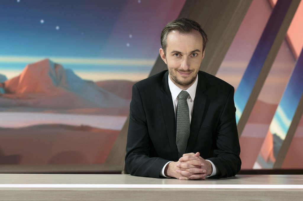 """Jan Böhmermann: Der Moderator vom """"Neo Magazin Royale"""" lässt Fernsehen und Social Media miteinander verschmelzen (Foto: ZDF/Ben Knabe)."""