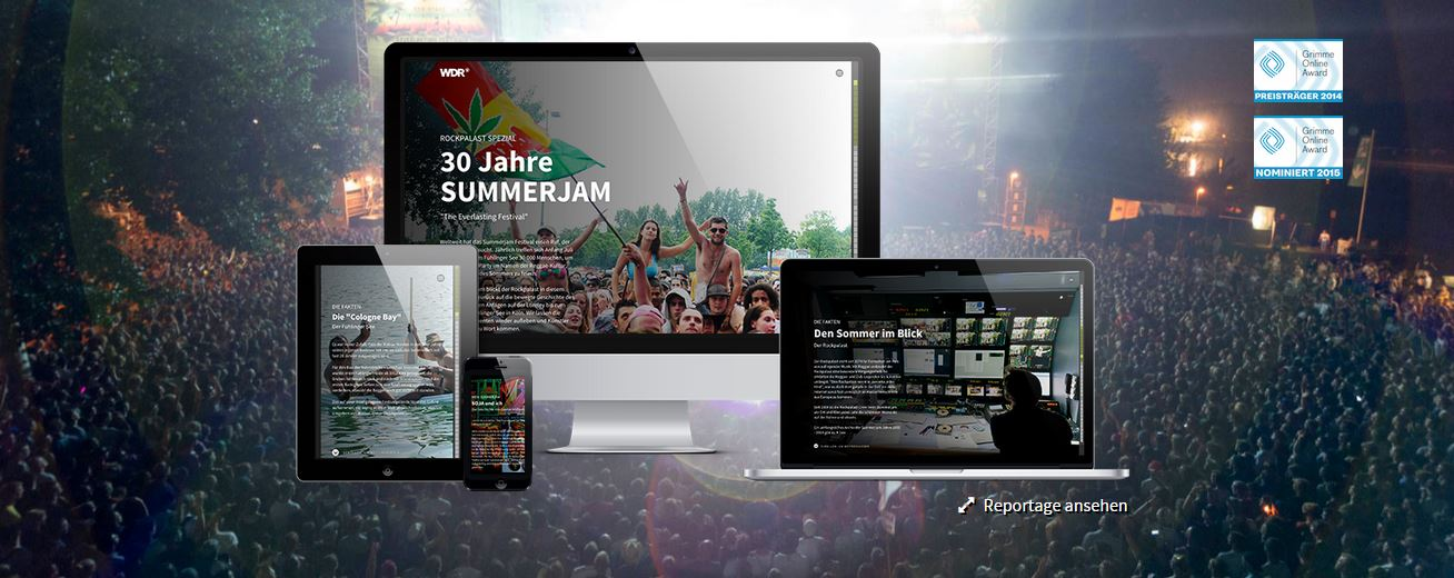 Pageflow - Startseite