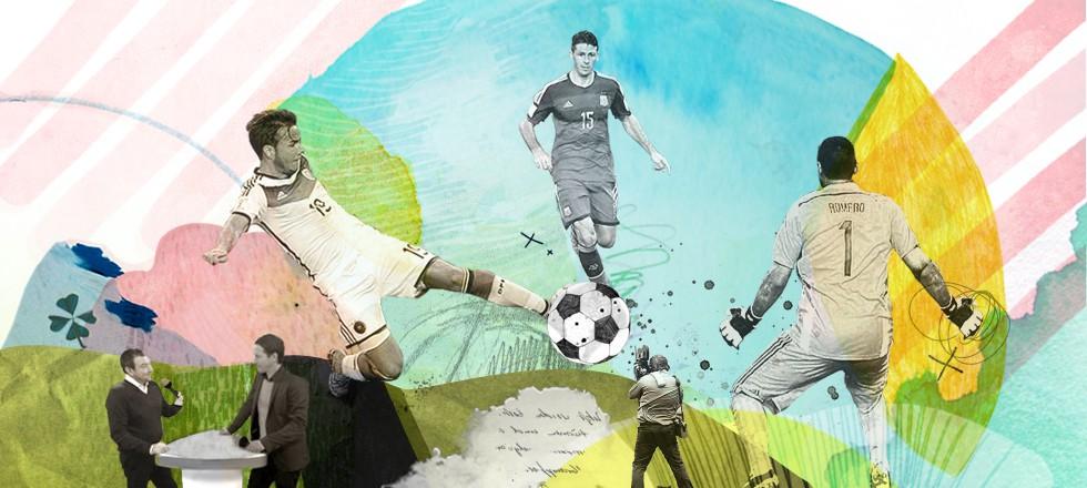 Illu Fußball