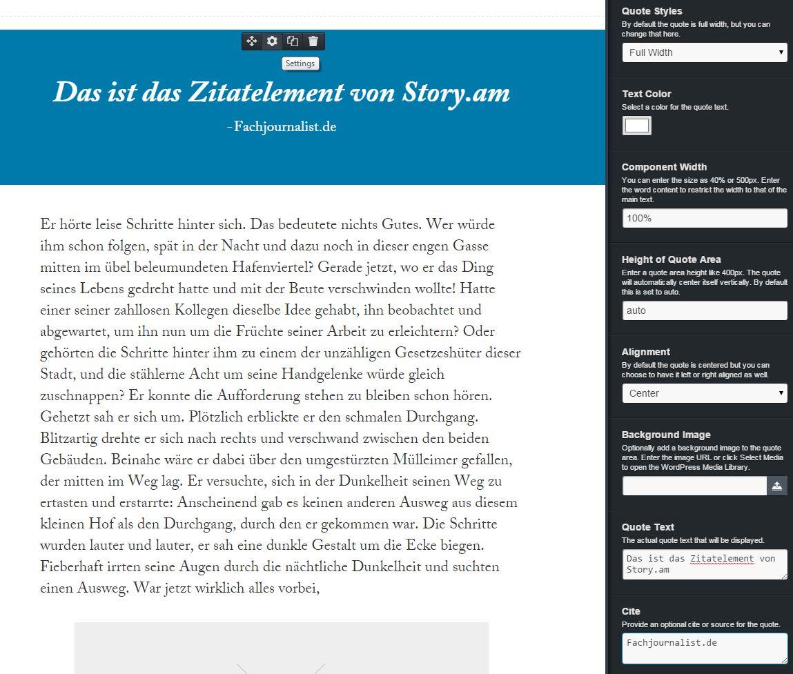 Story.am - Zitatelement