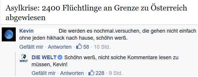 Welt Social Media